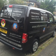 Oxford Edens Chimney van