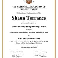 NACS certificate